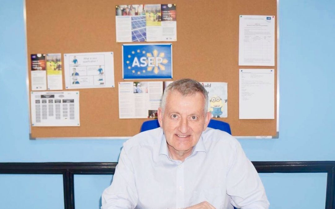 ASEP on-boards new Team Leader