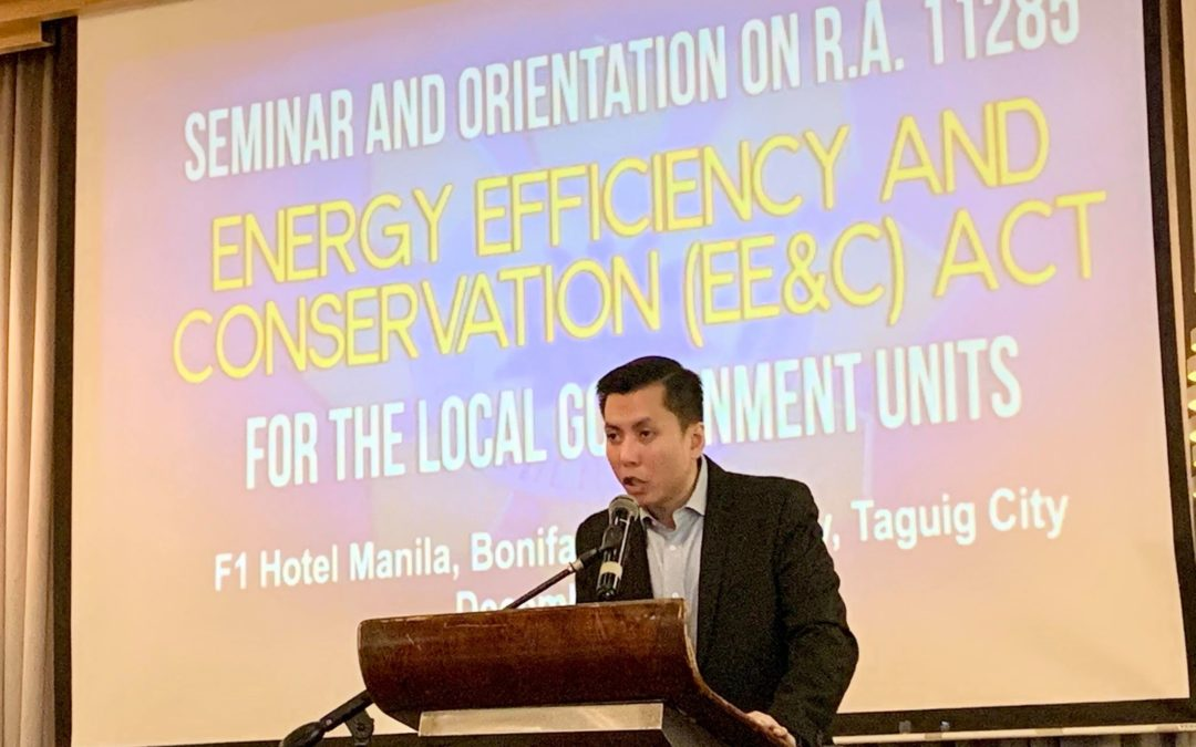 Local Government Units empowered to Implement Energy Efficiency and Conservation Act